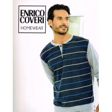 ENRICO COVERI PIGIAMA UOMO MANICA LUNGA ART 8006