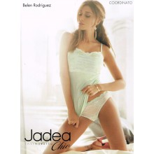 JADEA INTIMO COMPLETO TOP + SLIP DONNA ART 4524