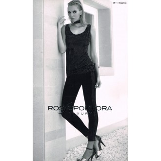 ROSSOPORPORA LEGGINGS DONNA ART LE113