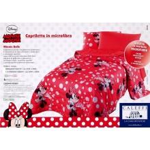 COPRILETTO MICROFIBRA DISNEY MINNIE BOLLE CALEFFI