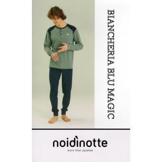 ART FC 1824 NOI DI NOTTE PIGIAMA UOMO CALDO COTONE