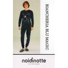 ART FC 1831 NOI DI NOTTE PIGIAMA UOMO CALDO COTONE