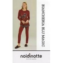 ART FA 6352 NOI DI NOTTE PIGIAMA DONNA CALDO COTONE