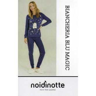 ART FA 6357 NOI DI NOTTE PIGIAMA DONNA CALDO COTONE