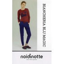 ART FA6322 NOI DI NOTTE PIGIAMA DONNA CALDO COTONE
