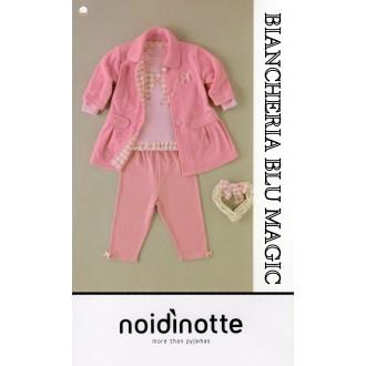 ART FT 366 NOI DI NOTTE COMPLETO NEONATA PIGIAMA+GIACCA COLLEZIONE2017/18