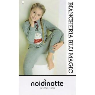 ART FE 1577 NOI DI NOTTE PIGIAMA BIMBA MICROPILE COLLEZIONE 2017/18