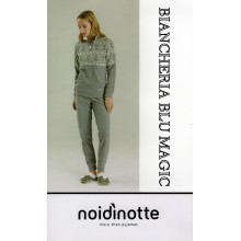 ART FA 6332 NOI DI NOTTE PIGIAMA DONNA MICROPILE