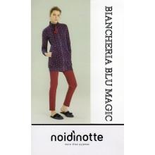 GE 1839 VESTAGLIA DONNA NOI DI NOTTE MICROPILE COLLEZIONE 2017/18