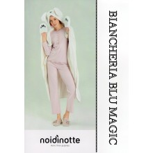 PLAID NOI DI NOTTE PANDA CORAL FLEECE