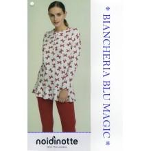 ART FA 6650 NOI DI NOTTE PIGIAMA DONNA CALDO COTONE COLLEZIONE 2018/19