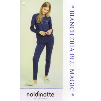 ART FA 6618 NOI DI NOTTE PIGIAMA DONNA CALDO COTONE COLLEZIONE 2018/19
