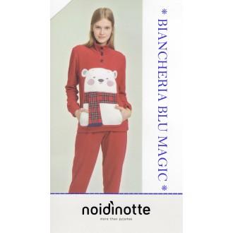 ART FA 6643 NOI DI NOTTE PIGIAMA DONNA MICROPILE COLLEZIONE 2018/19