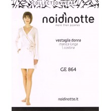 Art. GE 864 - NOIDINOTTE VESTAGLIA DONNA FLOWERS