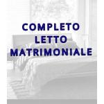 COMPLETO LETTO MATRIMONIALE