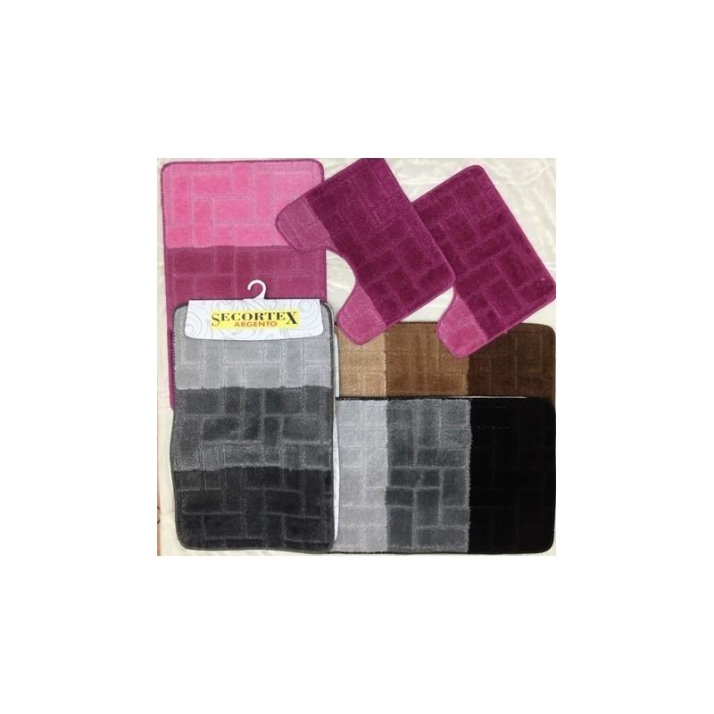 trendy tappeti tris bagno effetto d with tappeti bagno design
